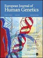 foto copertina European journal of human genetics