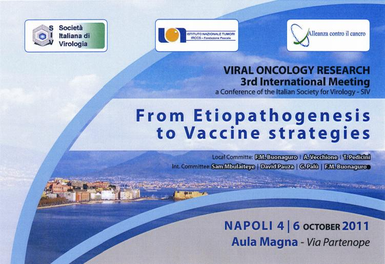 foto viral-oncology Napoli 2011